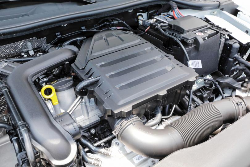 三缸引擎調校得相當優異,行駛或怠速時皆感覺不到抖動及噪音。(圖/馬景平攝)