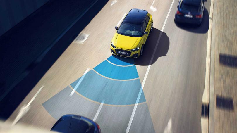 A1全車系搭載ACC主動巡航和前方預警系統,碰撞測試還獲得Euro NCAP給予五顆星評價。(翻攝自Audi官網)
