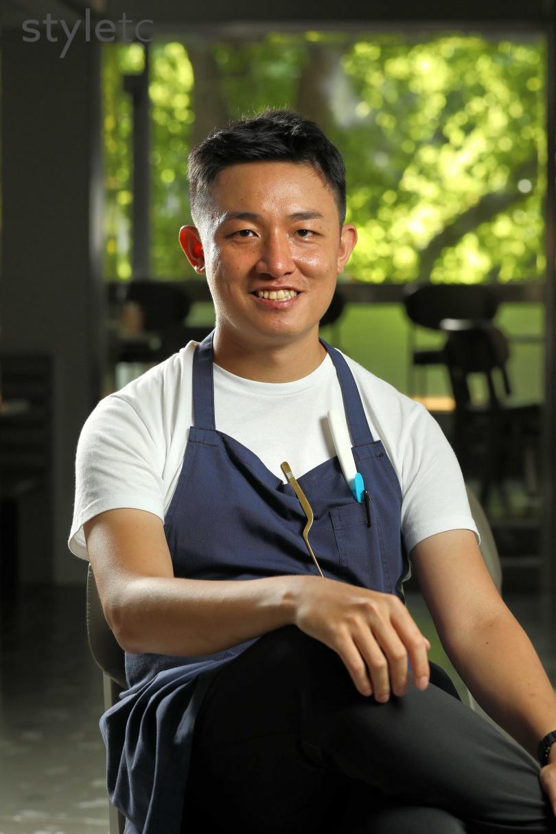 有著扎實中菜底子的年輕主廚Robert,過去曾在國內外多間名店歷練。(圖/于魯光攝)