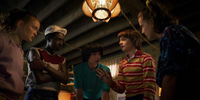 《怪奇物語》演員大受粉絲喜愛。(圖/Netflix提供)