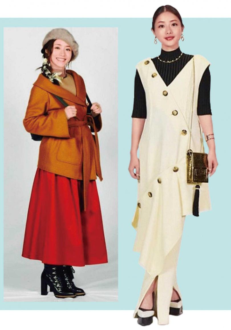 不少櫻花妹喜歡模仿石原聰美的穿搭,《校對女王》特別篇曾為她開設IG分享各種造型。(圖/翻攝自《校對女王》IG)