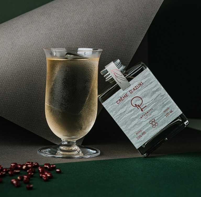 IMPROMPTU x WAT 大人味的紅豆奶油捲雞尾酒,獲得ISC金牌、IWSC銀牌。(喝酒不開車,未滿18歲請勿飲酒)