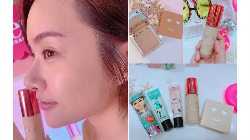 夏天因為溫度高特別容易有脫妝現象,因此得要慎選底妝產品跟妝前打底工具才行。