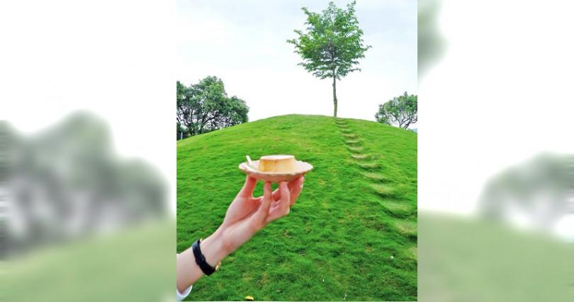 農場結合「美美子咖啡店」,有好喝咖啡和甜點。(圖/店家提供)