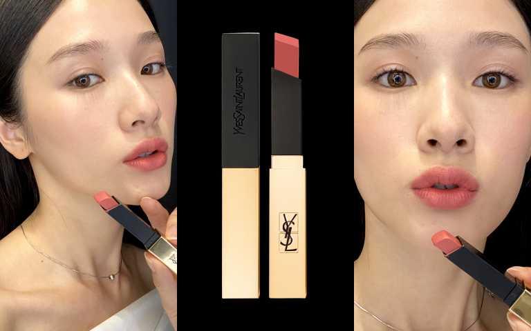 YSL奢華緞面絲絨唇膏#11/1360元(圖/品牌提供)