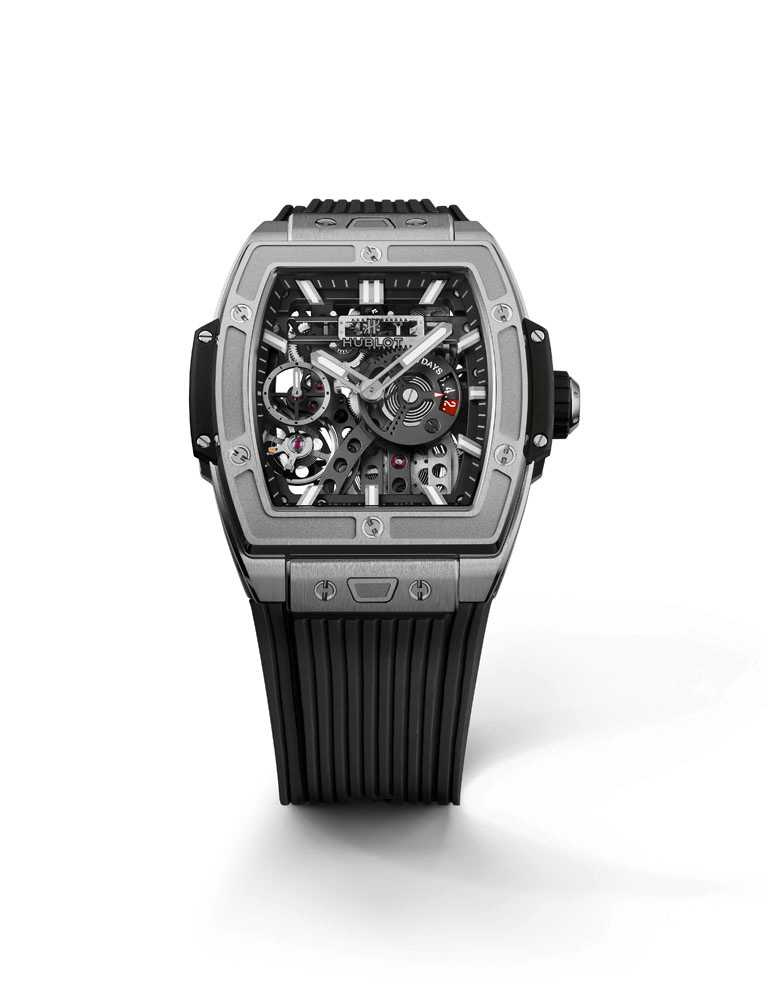 HUBLOT「Spirit of Big Bang Meca-10系列」腕錶,皇金款╱1,371,000元。(圖╱HUBLOT提供)