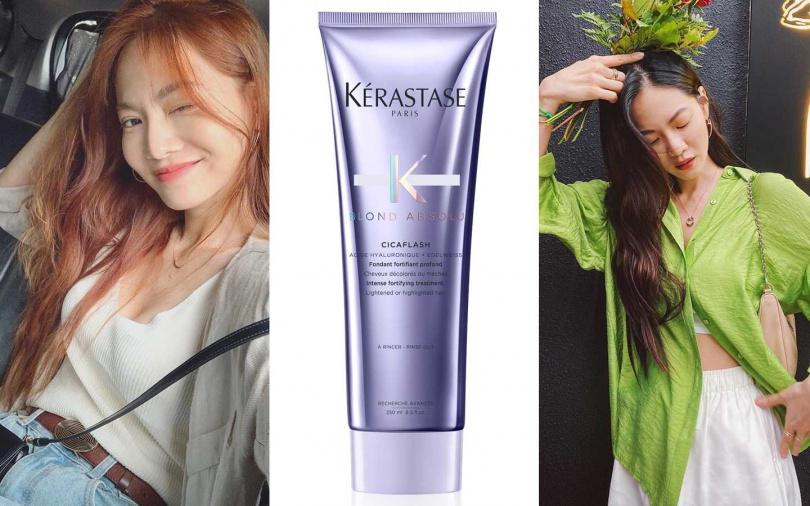 KERASTASE絕色玻尿酸水光髮膜 250ml/1,200元(圖/翻攝曾之喬IG、品牌提供)