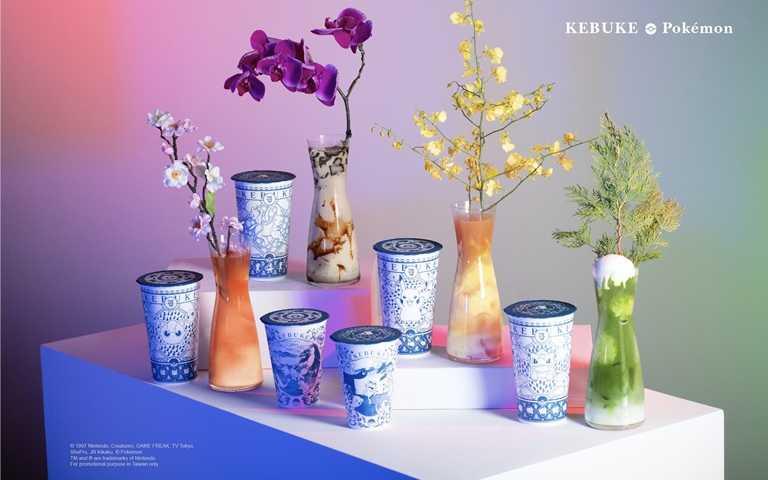 可不可熟成紅茶與寶可夢聯名商品及限定飲品,於10月1日起至12月31日止在全台門市展售,數量有限,售完為止。(圖/KEBUKE)