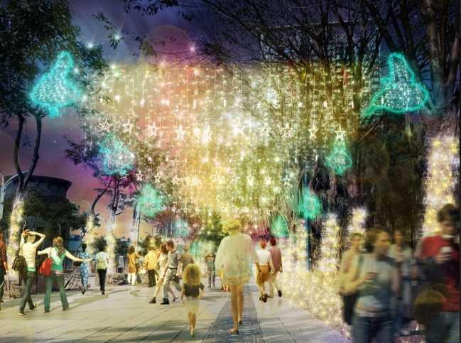 圖片來源:新北歡樂耶誕城
