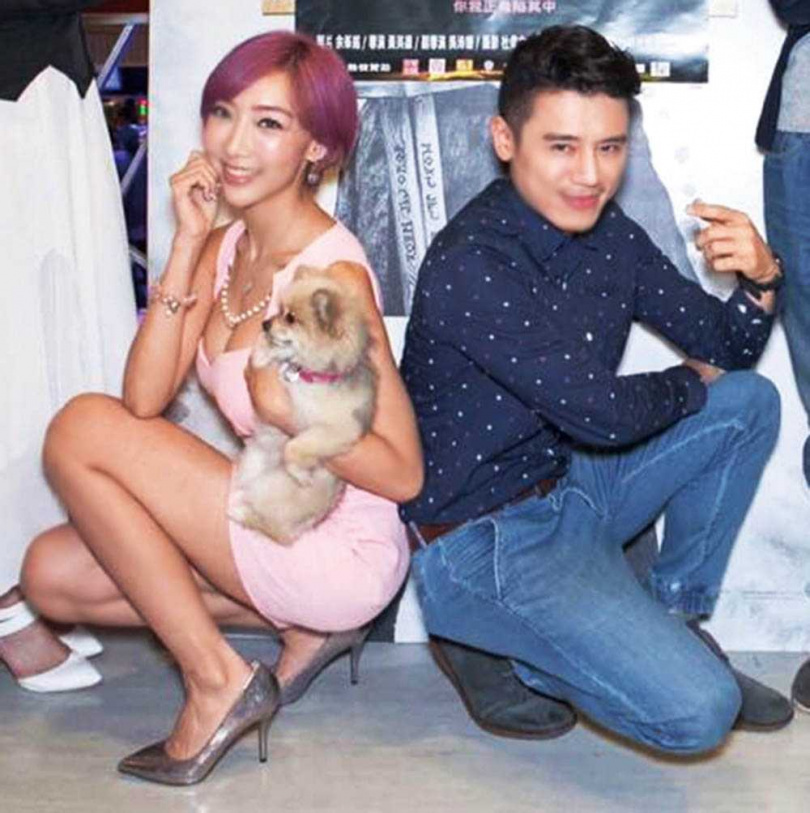 李宓演出《台北物語》時,Doggy意外入鏡變成狗明星。(圖/翻攝自網路)
