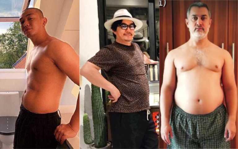 視帝被折磨3/為演老爸增胖25公斤   阿米爾罕花5個月瘦出8塊肌