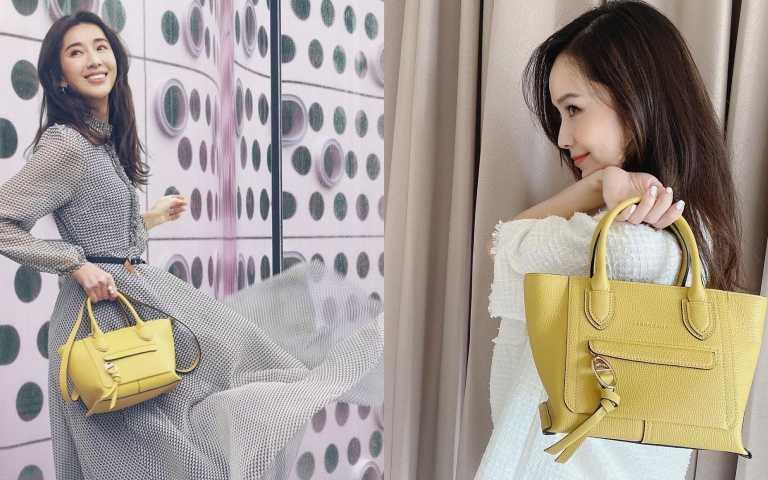 成為點亮春日的一抹清新:Longchamp最新「Mailbox手袋」當「亮麗黃」遇上優雅法式的浪漫