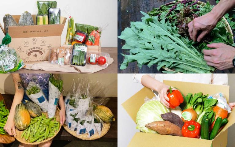 各家「蔬菜箱」出奇招!車來速服務、首創自選鮮果、小農野菜組合  量身訂製送到家