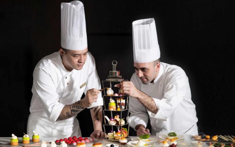 下午茶玩新意 台法雙廚聯手VS.珍珠品牌聯名 創意融入餐點裡