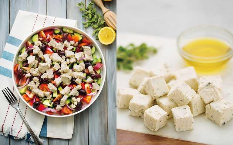 超健康!純素希臘沙拉
