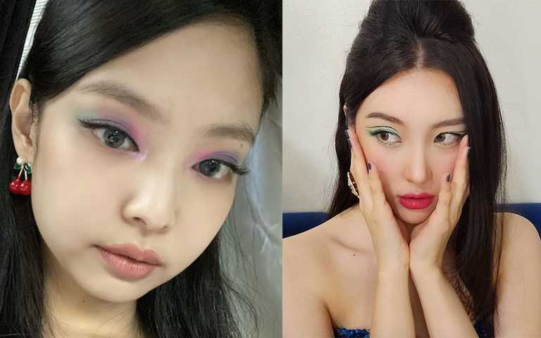 Jennie、宣美全換上這款「大勢綠眼妝」,最好駕馭的時髦兩款『綠』,保證不雷還很韓!!