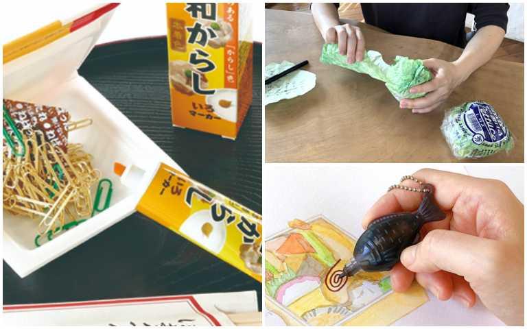 請勿吞食!外表看似是食物,內心卻是「文具」的日本創意設計!