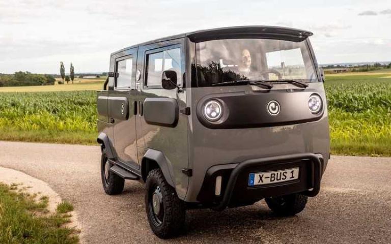來自德國的電能「露營車」未演先轟動!還沒上市呼聲已經極高!「Xbus」輕型電能車!