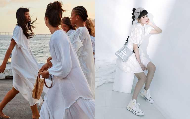 好人緣的女生都穿白色系!最沒有戒備心的顏色 今年夏季要活用搭配!
