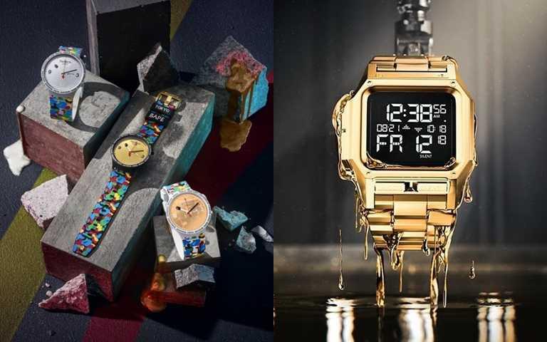 美國特種部隊研發的任務金錶、聯乘日系潮牌的彩色迷彩錶 潮人必須有的中性錶款
