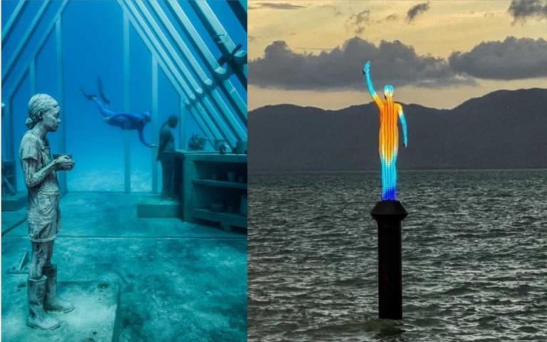 前進南半球第一座大堡礁海底博物館!一探深海的繁華與獨特