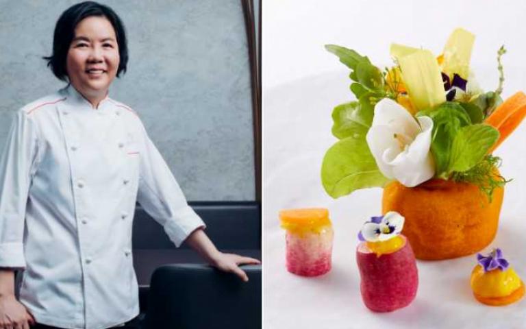 米其林餐廳女主廚黎俞君、陳嵐舒 為蔬食與牛肉麵賦予法國味
