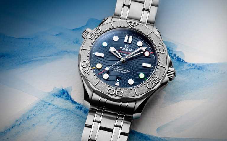 光榮記錄關鍵時刻!歐米茄海馬潛水300米特別版腕錶,為2022北京冬奧搶鮮熱力暖身