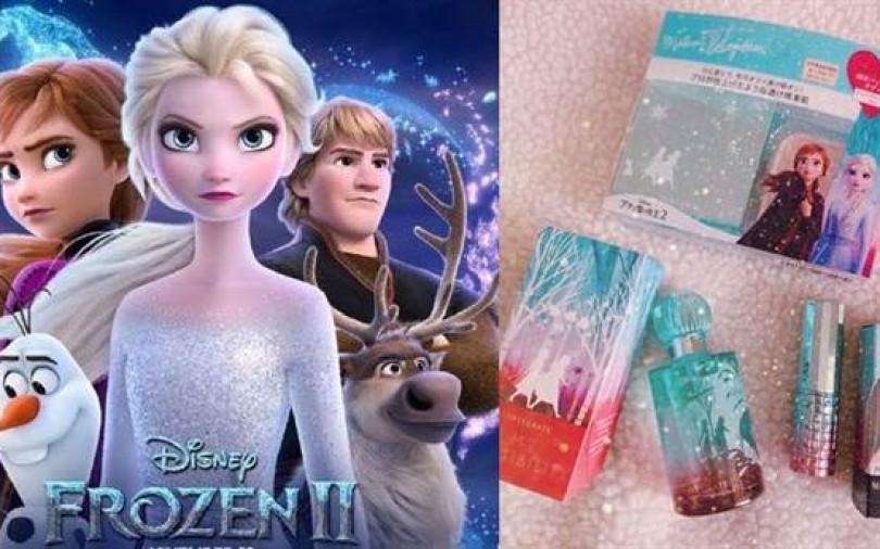 冰雪奇緣2讓少女心大噴發!跟進推出一系列周邊限量夢幻逸品衝買氣,一起買起來!