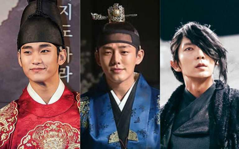 韓劇高顏值君王多 金秀賢、劉亞仁都曾披龍袍