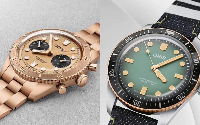 青銅鍊帶vs.職人精神!ORIS「Hölstein 2020」與MOMOTARO翻玩潛水錶新貌