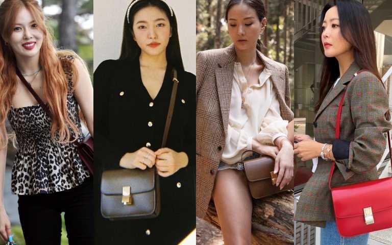 泫雅、Red Velvet Yeri、金喜善、楊丞琳、曾之喬、孫芸芸最愛的包款是都是這個IT包!一揹上太時髦了,今年一定要來敗一個!