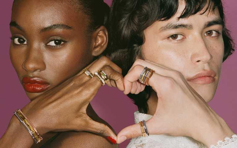 時尚防疫新生活!自由疊戴GUCCI「Link to Love」八角中性珠寶 讓人與人的情感連結更暖心