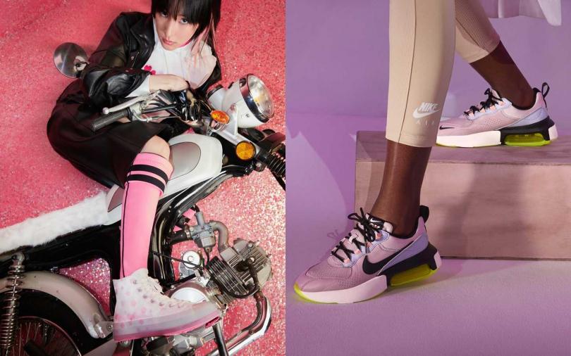 人家才沒有刻意裝可愛 只是穿了它而已!讓少女心大爆發的櫻花粉球鞋!