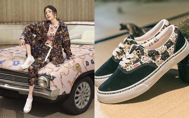 球鞋也玩少女風!從日系可愛到熱帶花卉與巴洛克風 設計更獨特更搶鏡