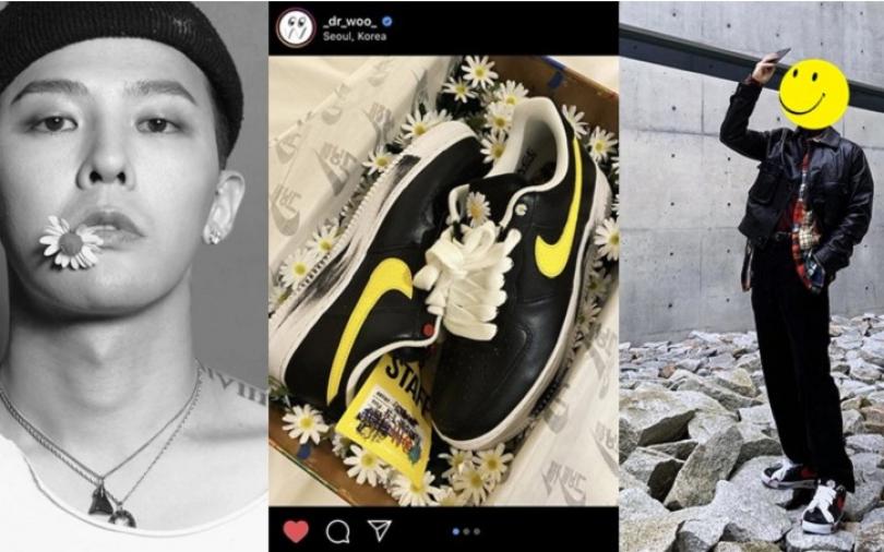羨慕就輸了!大家還再苦等GD的聯名鞋,韓國眾明星已經紛紛上網炫鞋!