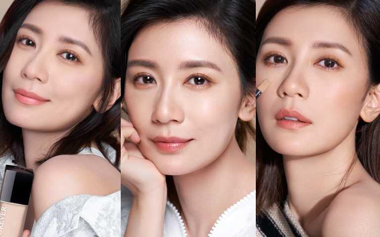 賈靜雯成為首位台灣迪奧彩妝大使,爆料用這款底妝讓她沒媽味,跟小孩自拍看起來像姊妹!