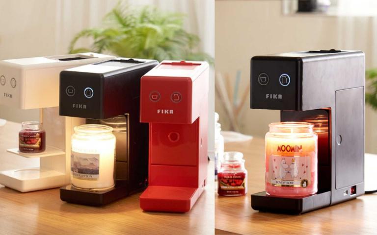 不是膠囊咖啡機?不需燭火就能安全使用的韓國「蠟燭加溫器」