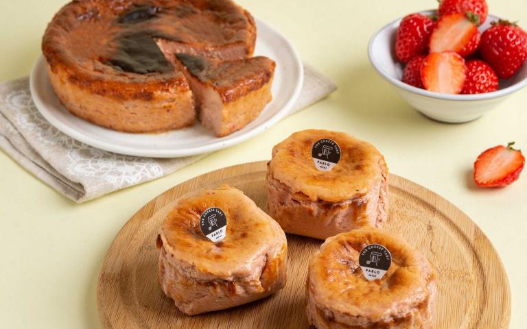起司控暴動啦!PABLO首次推出「草莓巴斯克起司蛋糕」 再限量加碼「一人也能獨享」的迷你款式!