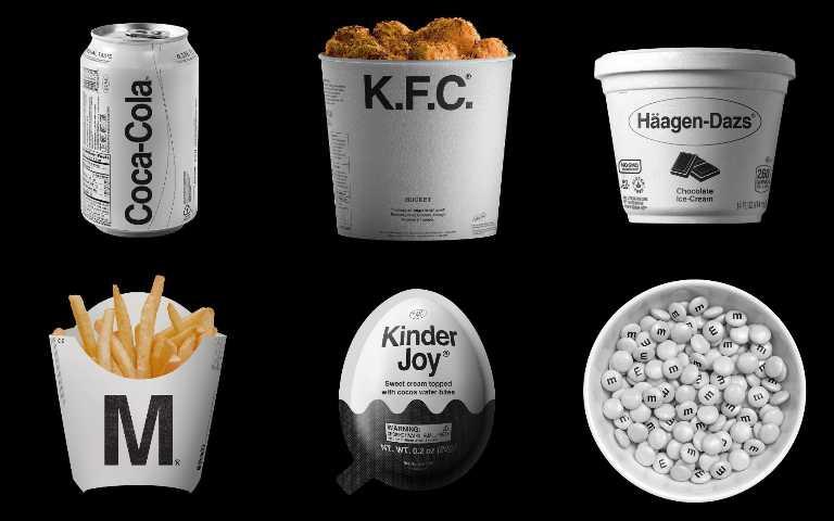 將食物包裝全套上黑白極簡濾鏡,質感瞬間飆升!