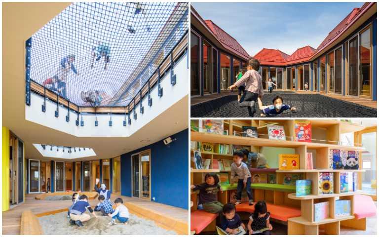 好想當小孩!teamLab建築團隊打造幼兒園,從小培養孩子們的創造力!