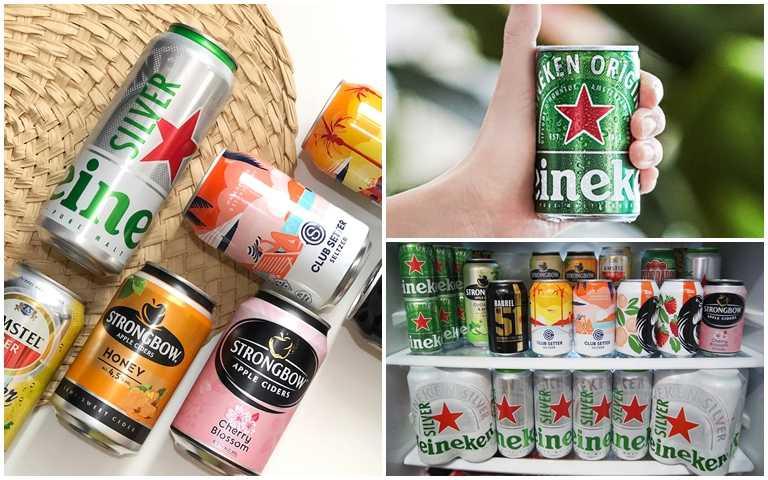 超商啤酒戰開打!「迷你海尼根」、威士忌可樂逾10款參戰,家裡就是啤酒吧