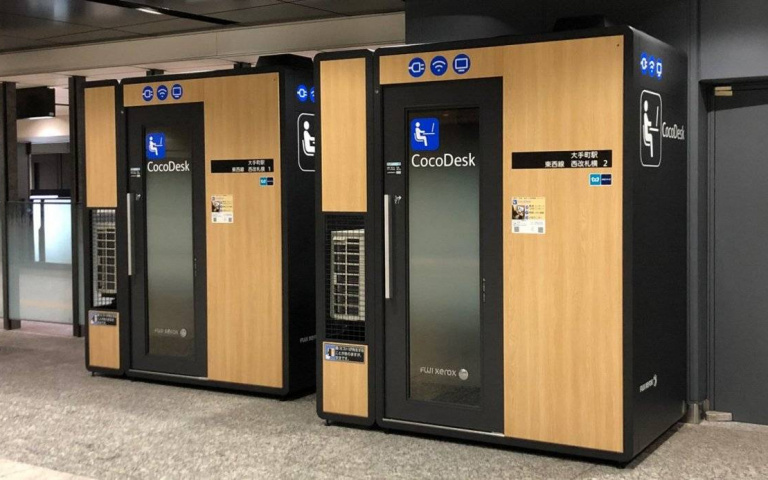 地鐵站就能辦公!進駐東京各大車站的工作空間「CocoDesk」