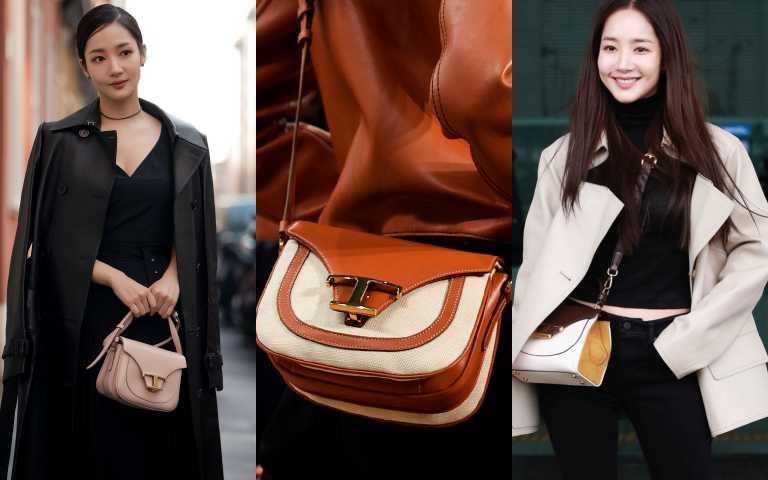 清純系女孩朴敏英 機場抓『包』超時尚 今年必收割包款就是它!