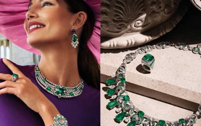 彩色寶石永遠不嫌多!2020高級珠寶把鑽石、彩寶、珍珠、祖母綠串寫成瑰麗詩篇