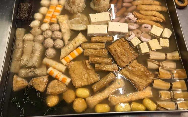 冬天宵夜怎麼能少了關東煮?新竹人吃起來 今晚就來嗑麻辣滷味(2)