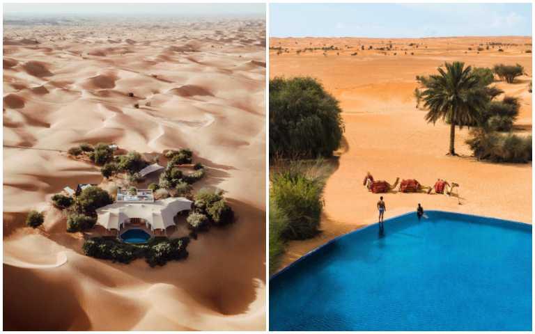 住在沙漠中央!騎駱駝、水療SPA,享受獨特的阿拉伯式豪奢享受!