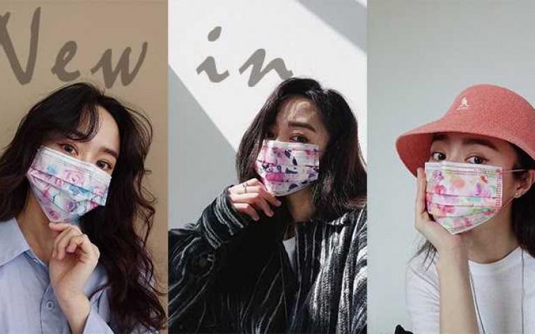 一戴就仙氣爆棚!4款「春花系列」醫用口罩網美必買 搭配春裝一秒變焦點!