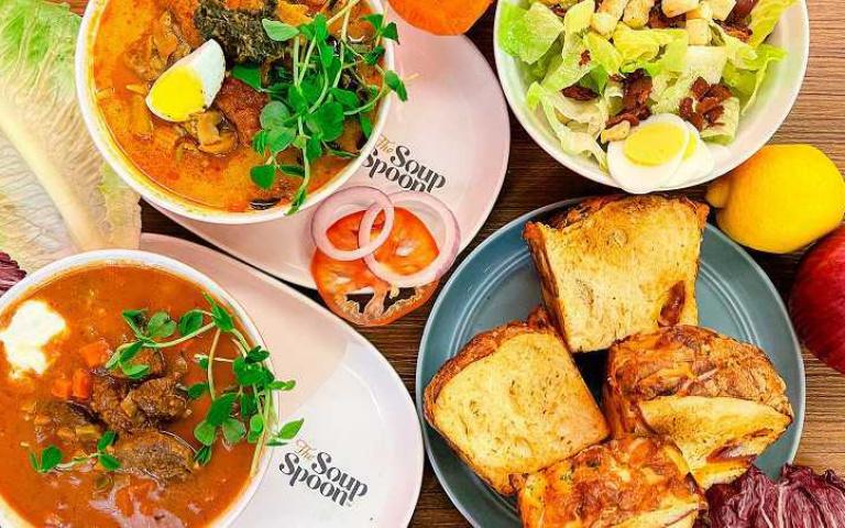 「The Soup Spoon匙碗湯」推母親節活動  帶您與媽媽輕盈偽出國 !用喝湯來環遊歐亞國家吧~