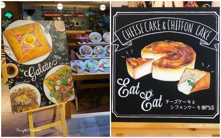 神人在此!粉筆藝術家Kinjo刺激食慾的黑板菜單,讓店家業績立刻飆升好幾倍!