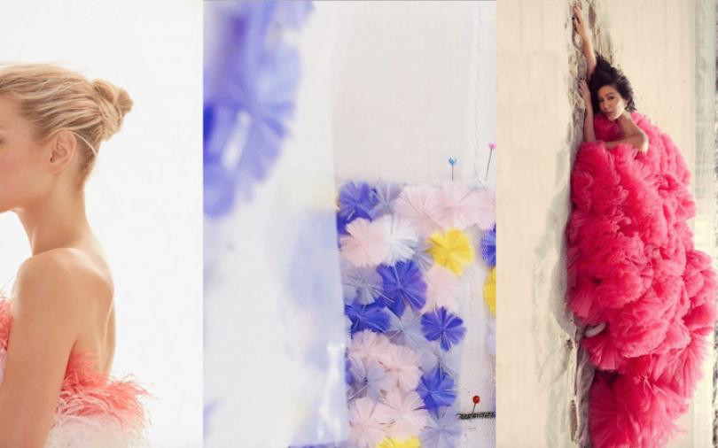 世界浮誇!今年當新娘就要選這款 Nicole + Felicia 秋冬婚紗趨勢